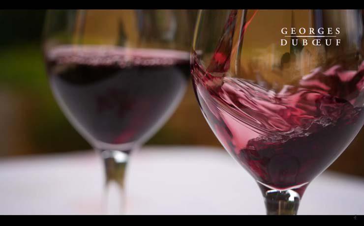 Beaujolais en copa
